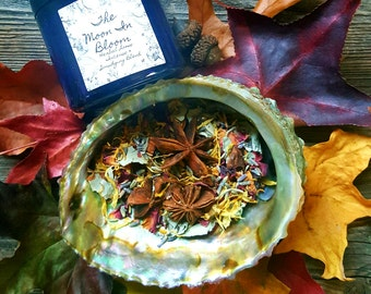 Protect & Cleanse Loose Incense and Smudging Blend- Herbs and Flowers-Charged With Quartz-Smudging Herbs-Clears Negative or Unwanted Energy