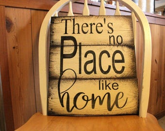 No Place Like Home pallet wood sign