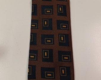 Johnson and Murphy Retro Silk Necktie