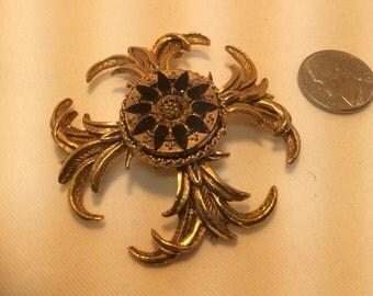 Medieval Brooch. Vintage Brooch.