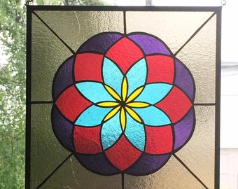 Sacred Geometry Stained Glass