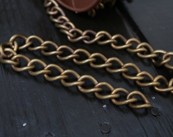 Heavy Duty Thick Brass Curb Chain