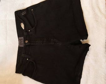 Authentic Versace high waisted cut offs