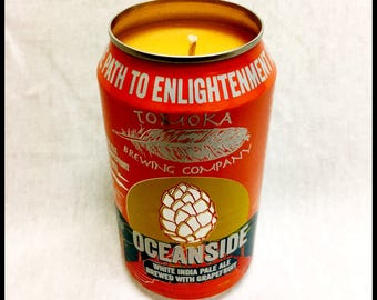 Island Hibiscus Scent Beer Can CANdle
