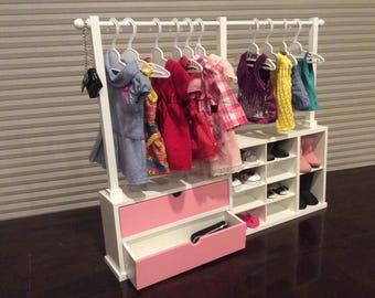 American Girl -  Wardrobe Rack or Counter Display