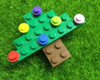 Lego Christmas Tree Brooch