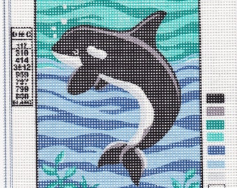 D' Art Tapestry. Whale. 3205.