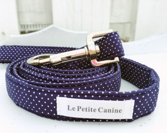 Dog Leash, Dog Collar, Dog Collars, Boy Dog Leash, Blue Dog Leash, Boy Dog Collar, Dog Wedding Collar, Adjustable Collar, Oliver Collection