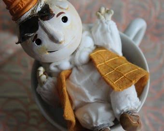 Stratciatella - small OOAK art doll