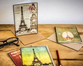 Greeting Cards Paris Vint...