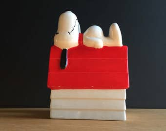 Snoopy Ceramic Mail / Napkin Holder