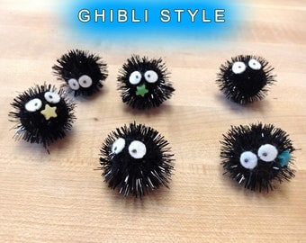6ct Soot Sprites: Spirited Away ~ Choose Your Style & Color ~