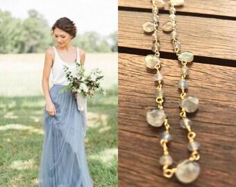 Labradorit rosary