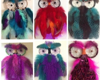 Owl Dream Catchers
