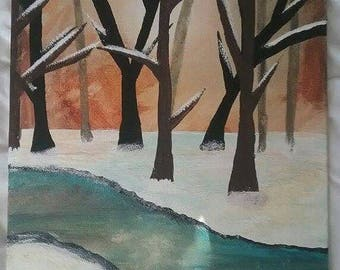 Winter Walk by Brooke