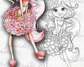 Darling Buds - Dahlia - Digital Stamp download