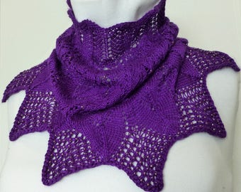 Beautiful Bewitched Cowl Hand-knit in Silk and Merino Wool