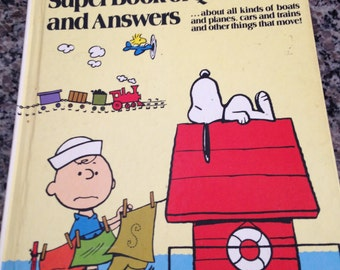 Vintage Charlie Brown's Third Super Book of Questions and Answers 1978