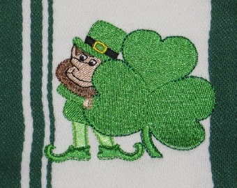 St Patricks Day Towel