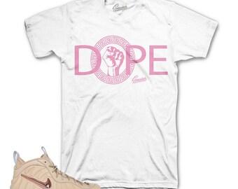 Foamposite Vachetta Tan DPE Gods Shirt