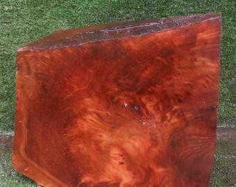 BL503  wood turning Block/Blank  Redwoodburl craft wood