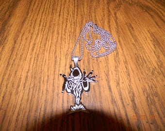 "ICP ""The Wraith of Shangri-La"" Stainless Steel pendant with a 30 inch ball chain"