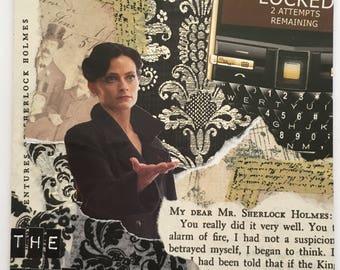 "Sherlock Holmes Greeting Card ""The Woman"""