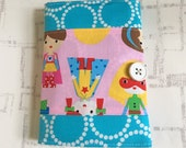 Coloring Wallet - Ann Kelle Super Kids Fabric
