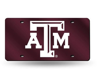 Texas A&M Novelty License Plate