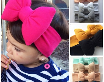 Pillow Bow Headbands