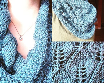 Spring Lace Cowl