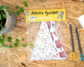 Napoleon Dynamite Paper Bunting // garland, vote for pedro, wall decor, party decor