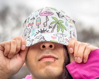 Amazeballs lightweight handmade cycling cap