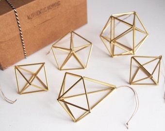 Himmeli Special Pack de 6 (prix réduit!) Kit de trois modèles : Cube + étoile + Goutte. Déco Scandinave. Déco Parfait pour Noël ou Cadeau !