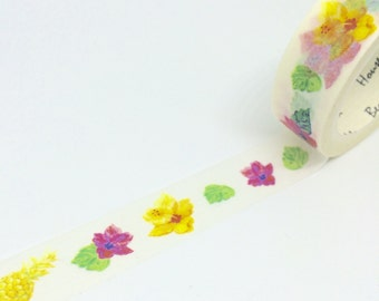 Hibiscus Pineapples Washi Tape 15mm x 7m