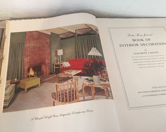 Vintage Book Titled Ladies Home Journal Book of Interior Design