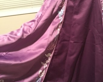 "Rapunzel inspired cosplay skirt ""plus"" size"