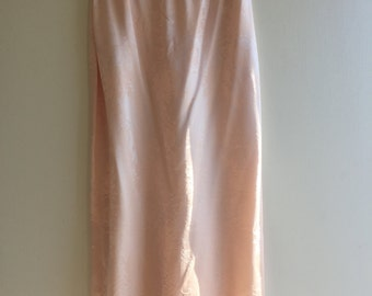 VINTAGE Light Peach Skirt\Slip | By Jessica McClintock | size 6