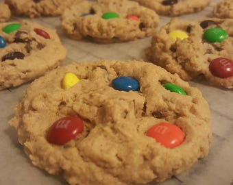MONSTER COOKIES  1 Dozen Gourmet
