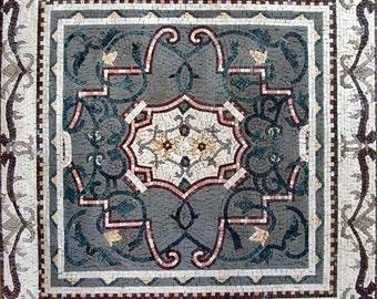 Ornamental Flower Mosaic - Nadia