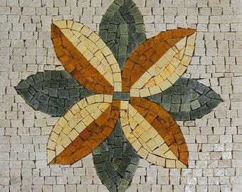 Accent Handmade Mosaic Flower