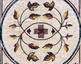 Flower Mosaic Square - Deli