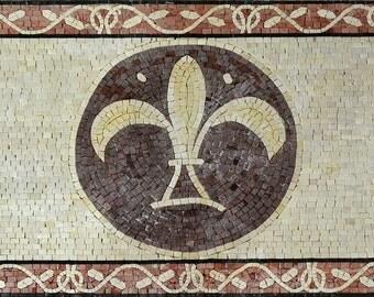 Rectangular Mosaic Rug - Rhianna