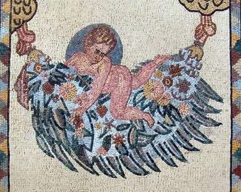 Mosaic Wall Art- Roman Angel