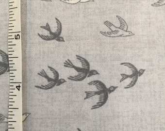 Heartwood Swallows by Henley Studios for Makower Fabrics