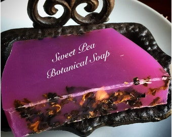 Sweet Pea Botanical Soap