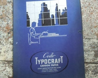 Carbon Paper / Vintage Typewriter Acessory / 2 Packs in their Original Box / Great Condition