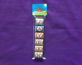 Personalized Little Einsteins Hershey Nuggets labels + bags + toppers, Party Favors (good for 10 sets of favors)