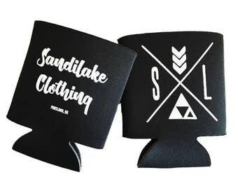 SandiLake Logo Drink Sleeve