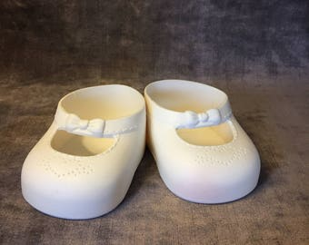 Vintage Doll shoes for real baby doll J Turner Hasbro doll